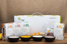 粥米礼盒:吉谷仁谷仁米五谷杂粮玉米南瓜红豆荞麦营养粥米礼盒2500g