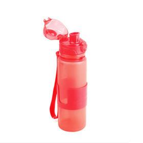 【安全防漏 魔法折叠】德国plazotta 硅胶可折叠运动水杯