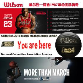 Wilson 限量版 黑色篮球 March Madness版29.5英寸