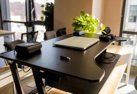站立式办公桌可升降折叠桌