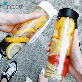 美国优道 unibott创意潮流便携运动水杯简约随手杯泡果茶杯 清润500ml