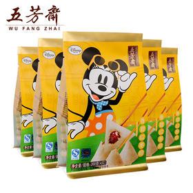 五芳斋 迪士尼 香甜红枣粽 200g*5包 迪士尼真空迷你粽共20只
