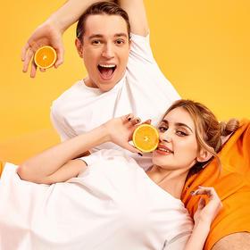 风谜FOOXMET橙子味舒适棉T恤 橙汁T恤