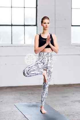 地球紧身长裤 加拿大高品质瑜伽服 瑜伽树yogatree