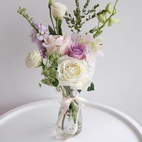 【包月花 每周一次】混合花束包月花可自选时间