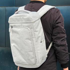 意大利PHILO 多功能立体双肩包 背包 自带USB接口 公交卡隔层