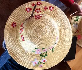 【10月28日】做小小农夫--彩绘草帽、古法农耕、除草犁地耙地、开埂施肥播种、秋收、做爆米花
