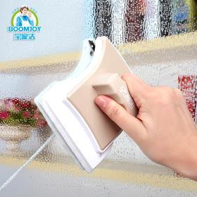 「玻璃擦完 能照镜子」双面擦窗器C6 强磁性 可擦手掌厚的玻璃 适用于16至24mm厚度