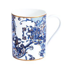 Roberto Cavalli 蓝色彩瓦系列马克杯