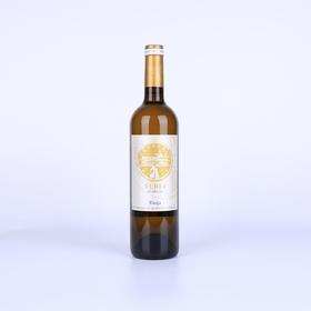 【菲集】西班牙原瓶原装进口葡萄酒 2014友醅老藤干白 DOCa级白葡萄酒