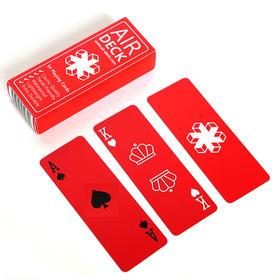 Air Deck创意超小防水扑克牌