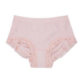 【超舒适无感内裤】2条装 日本进口面料 印花蕾丝透气内裤◆