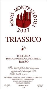 万巢之山三叠纪干红葡萄酒2008_1.5L/Montenidoli Triassico Toscana IGT Rosso 2008_1.5L