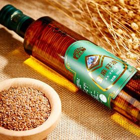 【有机款】蒙谷香500ml有机亚麻籽油  冷榨初榨 亚麻酸含量59.7%