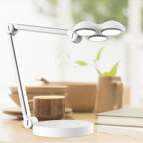 LEDISUN 小黄帽护眼台灯,光谱接近自然光,3D发光技术,3光源无影台灯设计