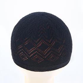 土耳其六色线帽,白帽深网帽子,老少皆宜(包邮)。