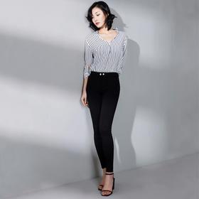 【穿上秒变大长腿  80-140斤可穿】韩国正品sp-68魔术裤v3新款 K-NZ029魔术牛仔裤 显瘦修身