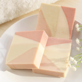 【水蜜桃成分 满足你的少女心】春季新款水蜜桃45℃洁面冷皂 80g 保湿锁水亮肤 清新柔和洁面