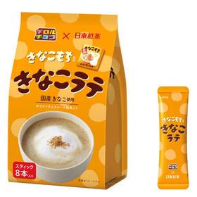日东红茶黄豆粉拿铁