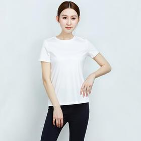纯棉后背系带短袖T恤--Z