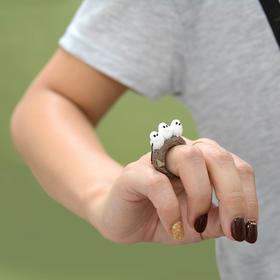 日本进口CLING Animal Ring动物戒指 情侣日韩潮人指环