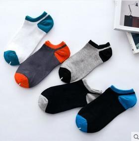 春夏新品薄款船袜反季男短袜女短袜船袜精典平板款船袜10双装