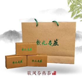 2019年新茶陕西特产安康富硒绿茶白河歌风春燕五星级礼盒装12g*10盒