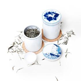 手工手绘  ·  青花茶叶罐