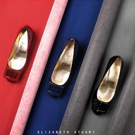 【来自法国的轻奢】Elizabeth stuart方扣优雅高跟鞋——经典款
