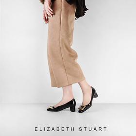 【来自法国的轻奢】Elizabeth stuart方扣优雅高跟鞋——2018新款