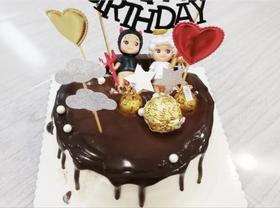 恶魔与天使蛋糕