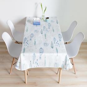 Spring 万物·小鱼防水桌布