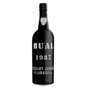 1987年戈顿年份布尔马德拉 Cossart Gordon Bual 1987