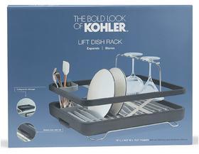 【居家用品】科勒创意厨房收纳沥水篮便携烧烤聚餐架碗筷餐具收纳盒套装收纳架25383