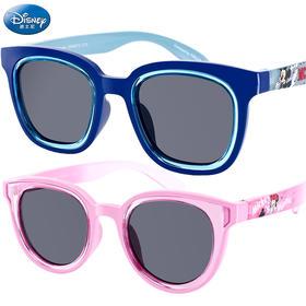 迪士尼女童太阳镜男童女童墨镜潮防紫外线幼儿童小孩宝宝眼镜