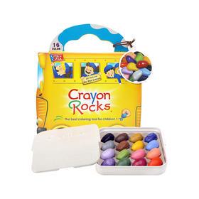 美国Crayon Rocks16色环保蜡笔+去上学绘本