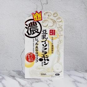 日本直邮LOHACO乐活咖SANA莎娜豆乳美肤保湿啫喱精华面膜5片