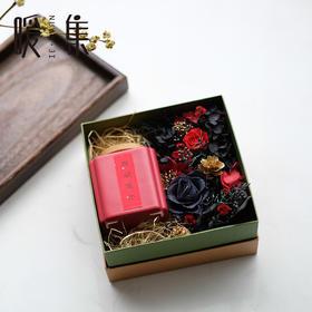 【朱鹤】永生花茶叶礼盒