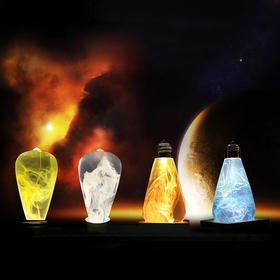 你见过最美的灯泡:悬浮色彩LED能量灯