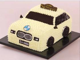 小汽车蛋糕(现做蛋糕请提前预定)