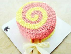 炫彩棒棒蛋糕(有水果.蓝莓果酱夹层)