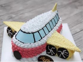 翱翔飞机水果蛋糕
