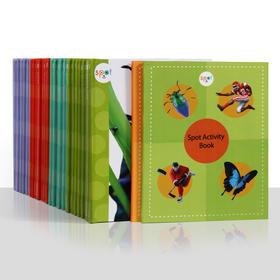 ♫盖世独家:Spot Books--斑点狗科普启蒙绘本(28本+2本练习册),本套书在美国和加拿大备受追捧,被很多公立学校指定课外阅读书,支持盖世点读笔点读。