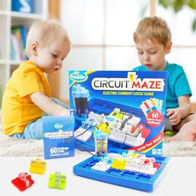 美国玩具大咖 Thinkfun Circuit Maze 电路迷宫棋
