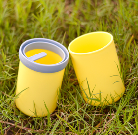 【49选5】不一样的马卡龙胶囊USAR漱口杯 旅行日常收纳 磨砂质感 (颜色随机)