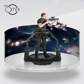 Virtuix Omni VR游戏沉浸设备,360˚ 实感跑步行走