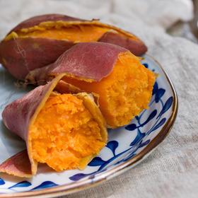 【会员积分兑换】福建特产六鳌富硒红蜜薯中大果5斤  看得见的软糯 吃的出的香甜