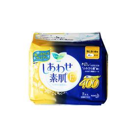 花王乐而雅棉柔纤薄透气夜用卫生巾400mm7枚