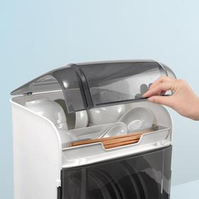塑料厨房沥水碗架带盖放碗筷碗碟碗盘非水槽沥水篮碗柜厨房置物架