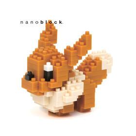 日本NANOBLOCK男生女生益智拼装颗粒积木益智拼插玩具礼物  伊布